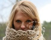 Winter SALE CROCHET PATTERN  Scarf Pattern The Rochester Neck Warmer Make Your Own Scarf