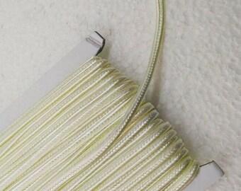 5.5 yards light  yellow Soutache Braid, Passementerie Braid, embroidery, Soutache cord, Passementerie cord Trim, gimp cord, russian braid