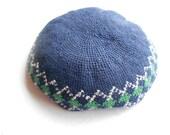 Vintage yarmulka.  Kippa.  Jewish tam.  Religious hat.  Skullcap.