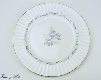 Paragon Morning Rose Dinner Plate, English Bone China Dinner Plate, Replacement China,  ca. 1960