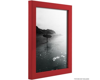 "Craig Frames, 8x10 Inch Modern Red Picture Frame, Confetti, .875"" Wide (1406350810 )"