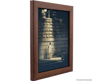 """Craig Frames, 10x12 Inch Honey Brown Picture Frame, Contemporary 1"""" Wide (232476161012)"""