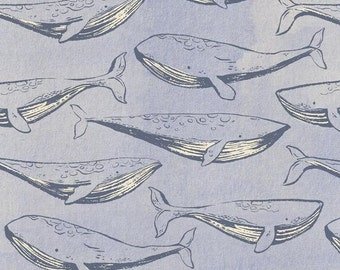 PRESALE - S.S. Bluebird - Fred and Carrie in Cloud - Cotton + Steel - 5097-02 - 1/2 yard