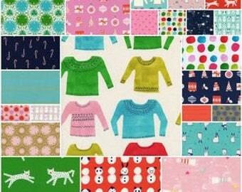 Noel - Half Yard Bundle - Cotton + Steel - NOEL-HY - 23 prints