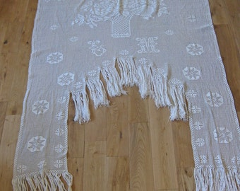 French door curtain stunning hand made crochet lace portiere cantonniere with fringing