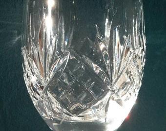 Beautiful Cut Crystal Wine Glasses. Stuart Crystal