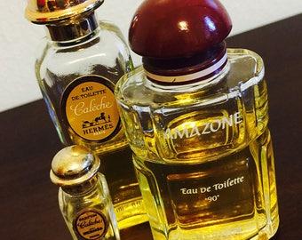 Vintage Hermes Fragrances - Caleche & Amazone eau de toilette