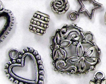 Special Offer: Metal Charms and Spacer Beads, 1 lb_Bulk pack