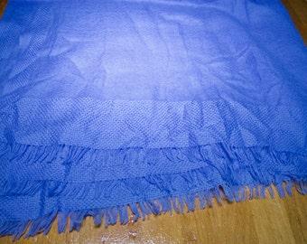 Super Soft Periwinkle Blue Scarf