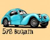 1957 57s Bugatti - Express Ship Custom Order