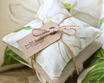 Lavender Drawer Sachets - White Magnolia