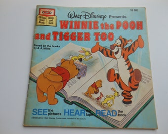 Winnie the Pooh and Tigger Too Read-Along Book