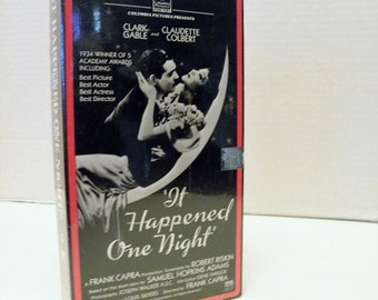 It Happened One Night VHS Video Tape New Factory Sealed