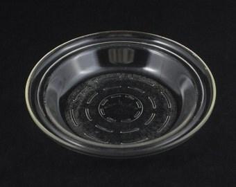"Vintage GlasBake Pie Plate Lose-No-Juice Baking Dish  9"""