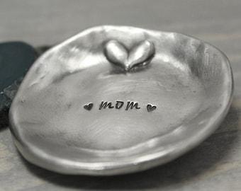 Pewter Ring Dish, Ring Holder, Trinket Dish, Jewelry Holder, Jewelry Storage, Jewelry Display, Jewelry Storage, Ring Tree, Jewelry Tree,