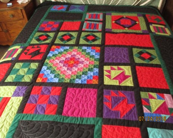 Amish Style Queen Size Quilt