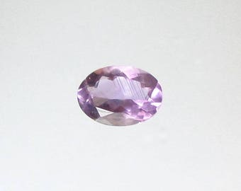 Natural Purple Amethyst, Unheated, Oval Cut, 5.21 carats