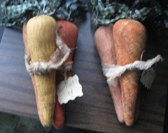 Carrots, easter, bowl fillers, gifts for her, rustic