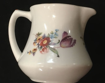 "Syracuse China ""Old Haarlem"" Restaurant Hotel 6 oz. Creamer Very Good Condition"