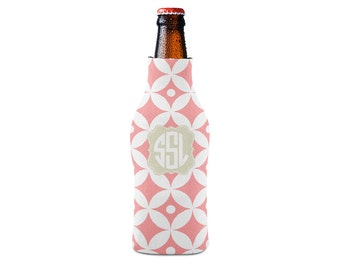 Personalized Bottle Insulator, Diamonds - DIY Custom Bottle Insulated Beverage Container