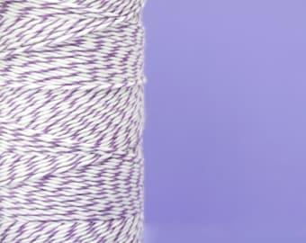 Purple Plum Cotton Bakers Twine