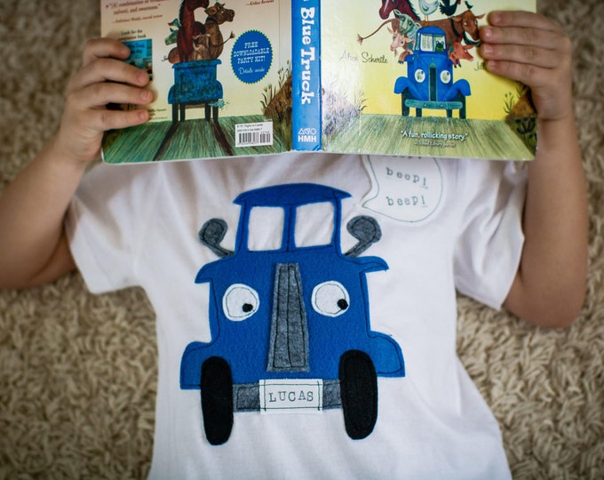 "Swanky Shank Boys or Girls ""The Little Blue Truck"" Tee"
