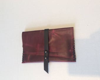 Pouch Bag,Leather  Portfolio  Case,Coins Purse Bag,Leather Wallet