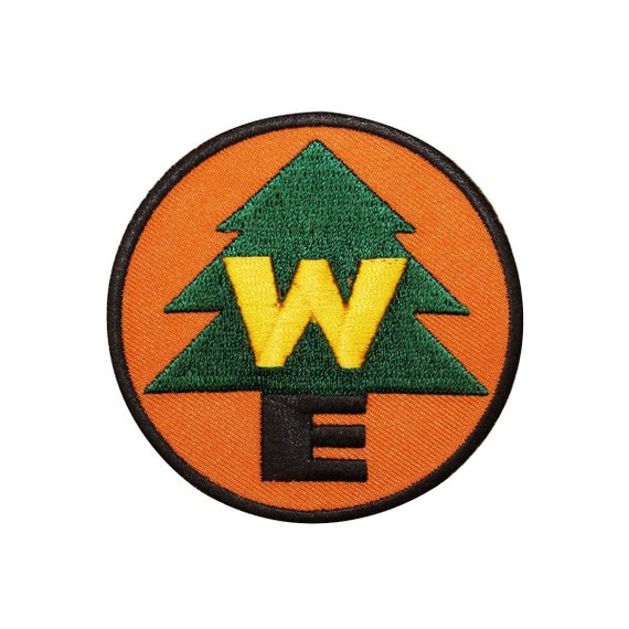 Wilderness explorer disney scout iron on badge patch up craft