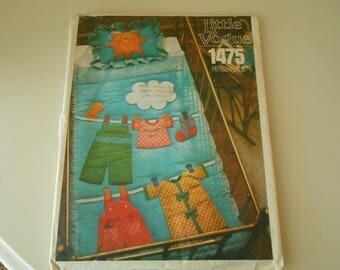 Little Vogue 1475 baby quilt pattern