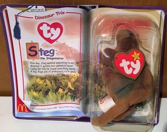 Beanie Baby McDonalds promo, Steg the Stegosaurus.
