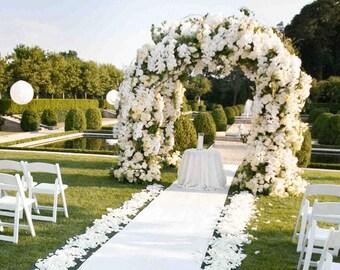 Wedding Aisle Runner, Wedding Ceremony Aisle Runner,  Floral Print Aisle Runner, Wedding Runner, Wedding Ceremony Aisle,  36 in. by 100 feet