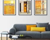 30% OFF SALE: Any THREE Prints - Save 25 Percent,Set of three Illustrations,Paris Art Print Poster Home decor Mixed media Nursery decor Kids