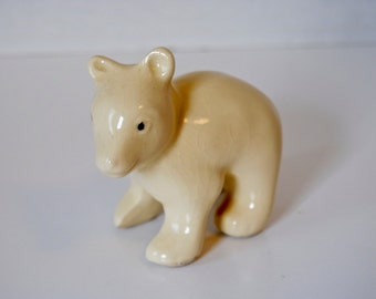 Adorable Shawnee Pottery Mini Bear Figurine