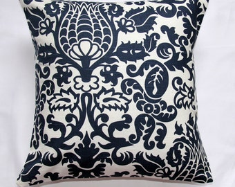 Throw Pillows, Sale, blue damask pillows, pillow cover, designer pillow, cushion cove,r home decor, housewares, premier prints, blue floral