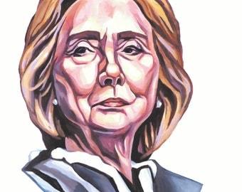Hillary (print)