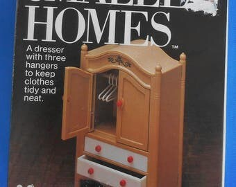 Vintage Dollhouse Furniture. Tomy Smaller Homes Dresser Made in Japan  New in Box.
