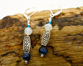 029 Silver with Blue