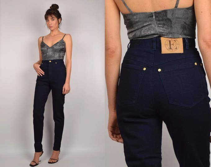 Vintage Escada High Waisted Skinny Jeans