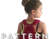 Crochet Pattern - The NESO Boho Crochet Top by Hadley Paige Designs.  Summer wear. 3 sizes baby, toddler & child.  kids fashion baby styles