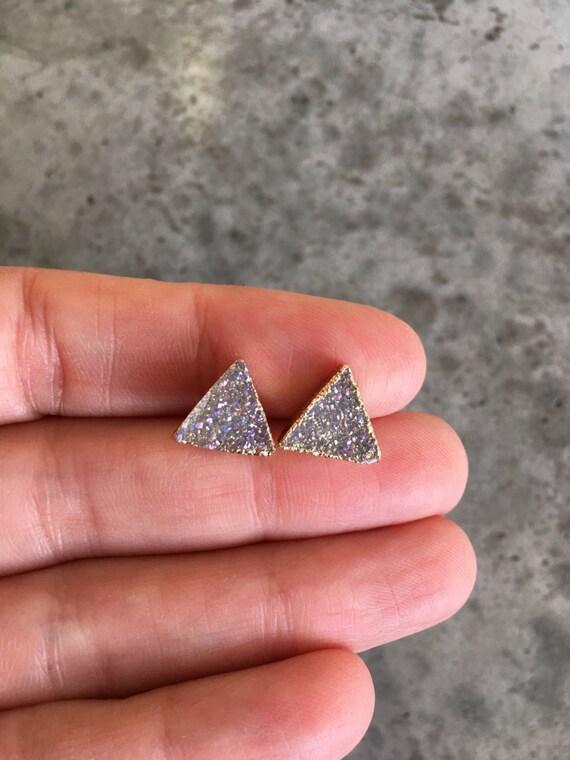 Crystal Druzy Earrings