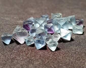 Blue Fluorite Octahedron Pick4U