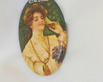 Store Closing Sale Vintage Mirror Coca Cola Collectors