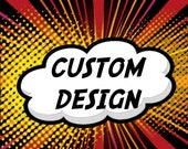 4 Custom Rocks Glasses with Art provided