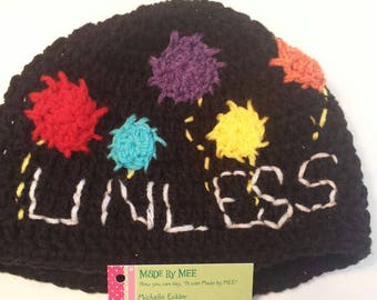 Earth Day hat/Earth Day Beanie/Science March/March for science/Science Hat/Unless/brain hat/Lorax/Resist/resistance, pussycat hat