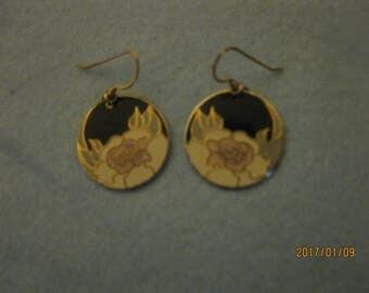 Laurel Burch(Garden Rose) Earrings