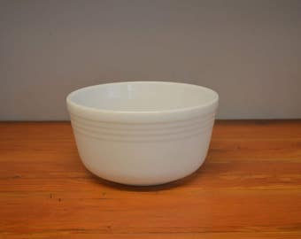 Vintage Pyrex Hamilton Beach large milk glass mixer mixing bowl replacement bowl