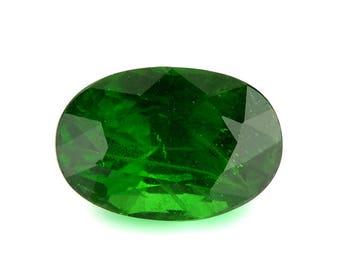 2.20ct Tsavorite Green Garnet Oval Shape Loose Gemstones (Watch Video) Free Shipping SKU 330A001