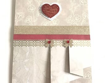 Gifts for Brides/Mother's Day Gift/Gift for Her/Engagement Cards/Wedding Day Cards/Congratulations Card/Card for Her/Valentine's Day Card