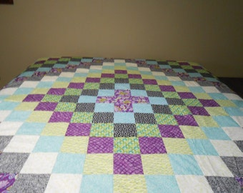 Trip Around The World QUILT TOP ONLY