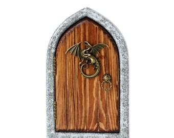 Dragon's Keep Fairy Door for Home and Garden